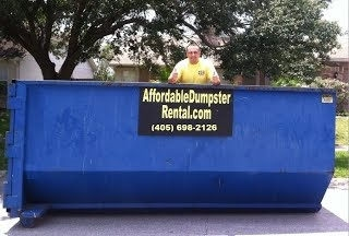 rent a roll off dumpster in oklahoma