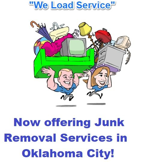 Oklahoma city junk removal services